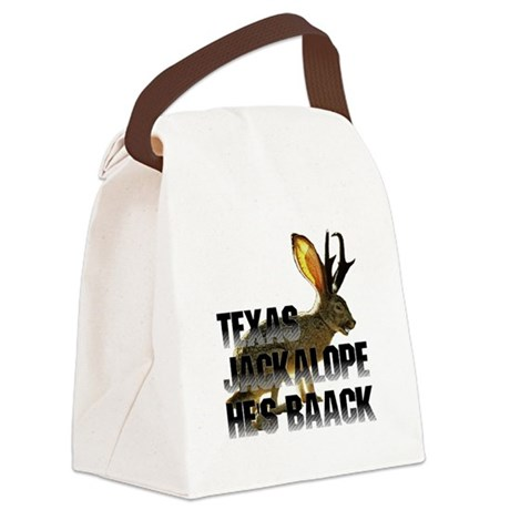 Jackolope4a.png Canvas Lunch Bag