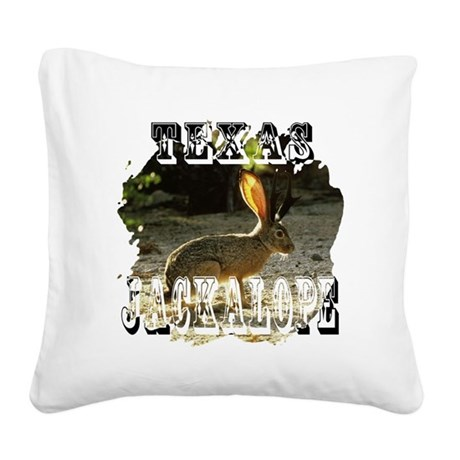 Jackolope1a2.png Square Canvas Pillow