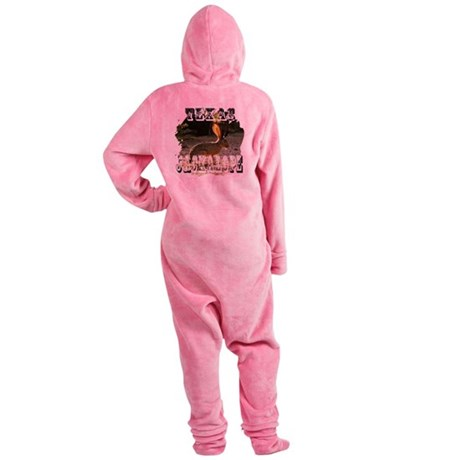Jackolope1a2.png Footed Pajamas