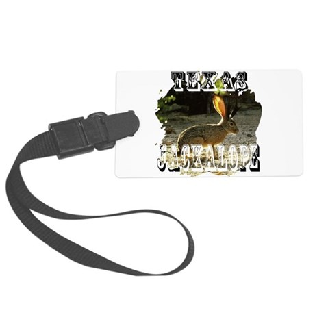 Jackolope1a2.png Large Luggage Tag