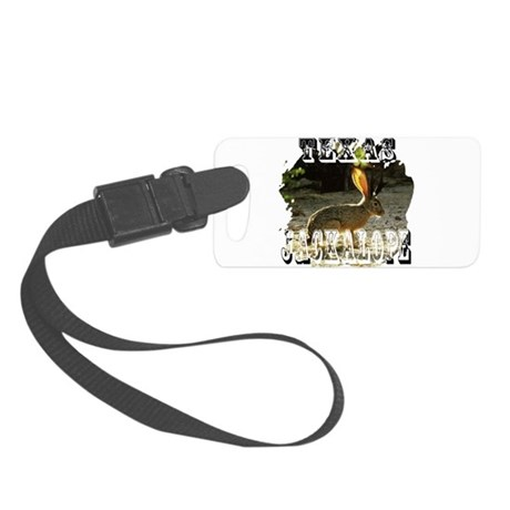 Jackolope1a2.png Small Luggage Tag