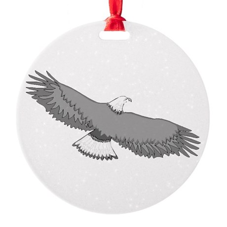 eagle Round Ornament