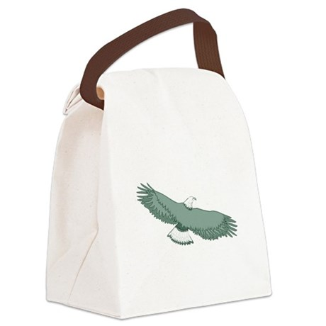 eagle Canvas Lunch Bag