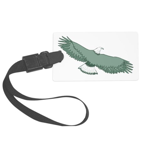 eagle Large Luggage Tag