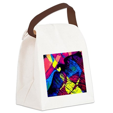 Spirit of the Eagle Canvas Lunch Bag