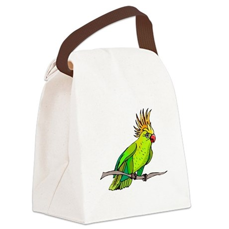 parrot Canvas Lunch Bag