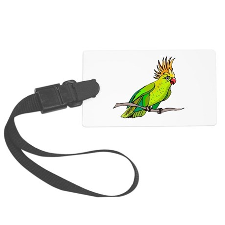 parrot Large Luggage Tag