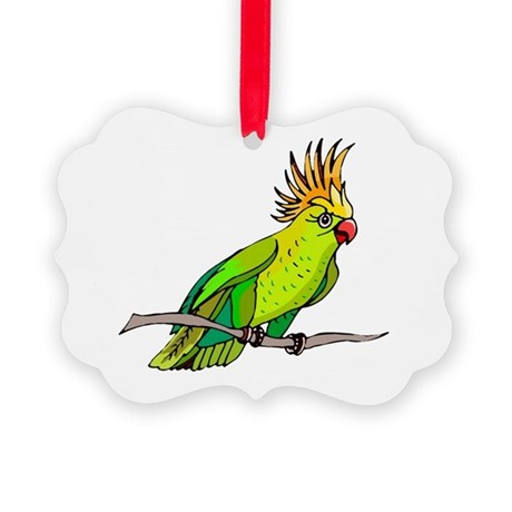 parrot Picture Ornament
