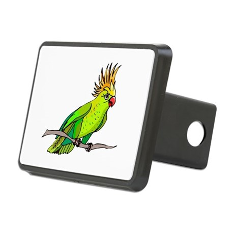 parrot Rectangular Hitch Cover