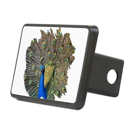 peacock.png Rectangular Hitch Cover
