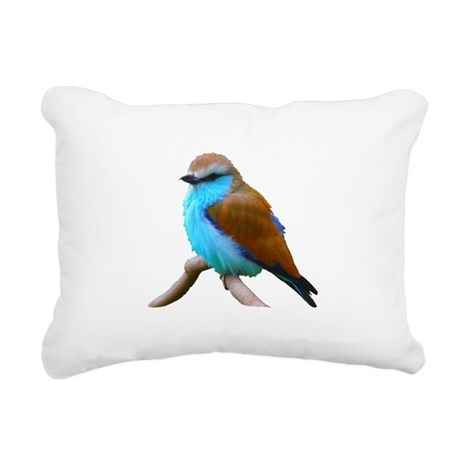 bluebird.png Rectangular Canvas Pillow