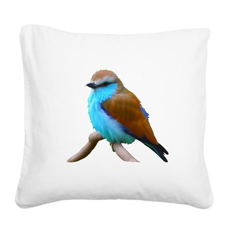 bluebird.png Square Canvas Pillow
