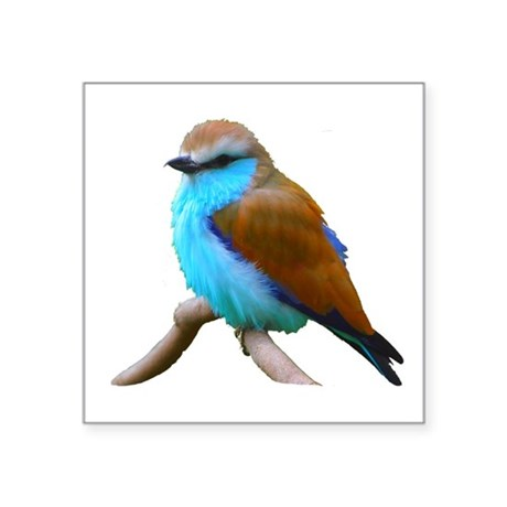 "bluebird.png Square Sticker 3"" x 3"""