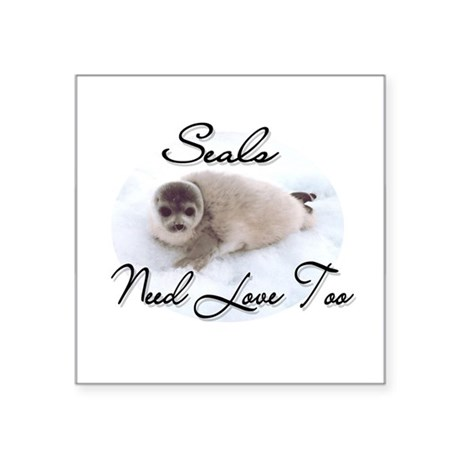seal3.png Square Sticker 3&quot; x 3&quot;