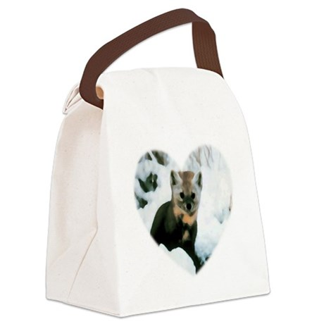 baby fox Canvas Lunch Bag