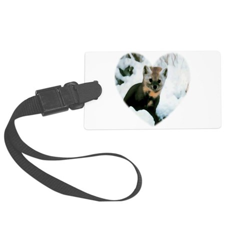 baby fox Large Luggage Tag