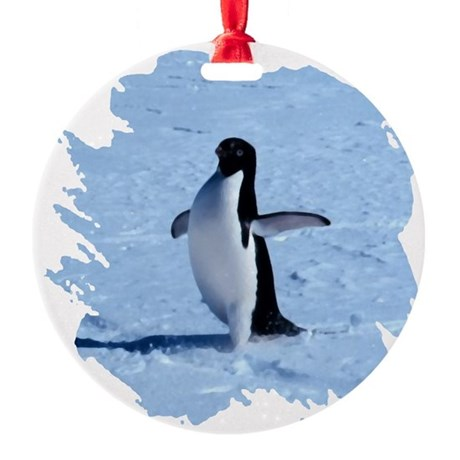 penguin Round Ornament