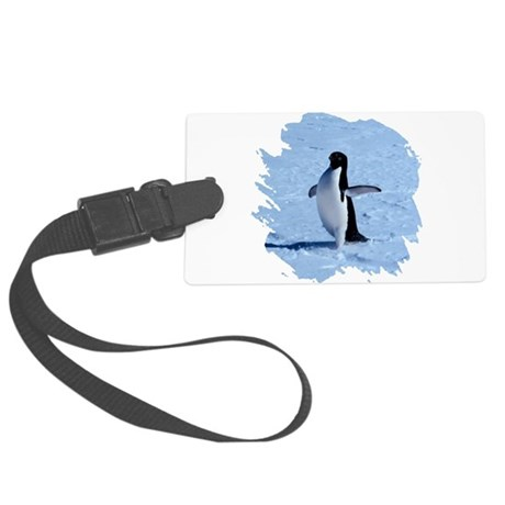 penguin Large Luggage Tag