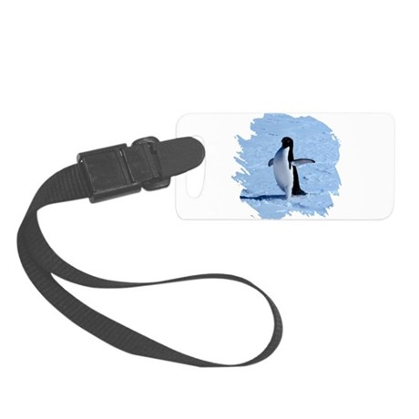 penguin Small Luggage Tag
