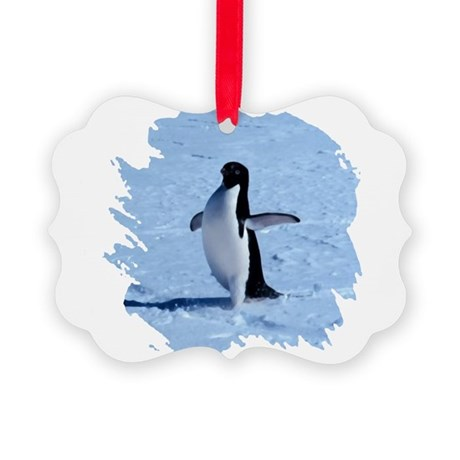 penguin Picture Ornament
