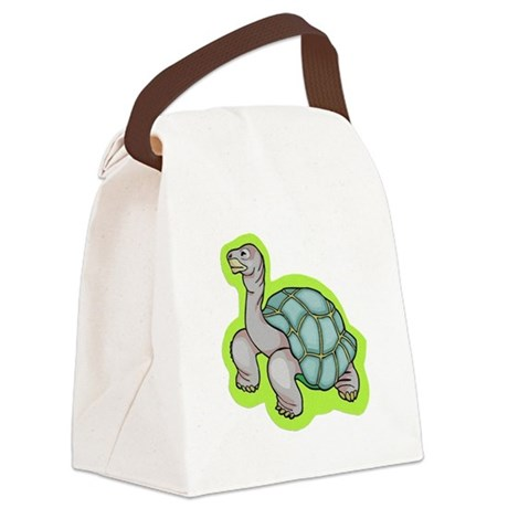 turtle.png Canvas Lunch Bag