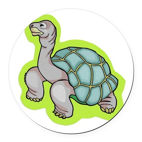 turtle.png Round Car Magnet