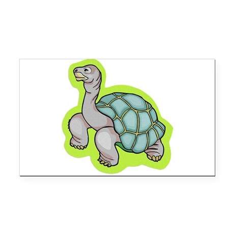 turtle.png Rectangle Car Magnet