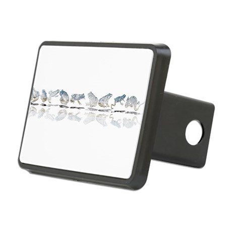 frogs Rectangular Hitch Cover