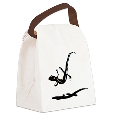 gecko newt lizard Canvas Lunch Bag