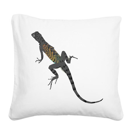 lizard1.png Square Canvas Pillow