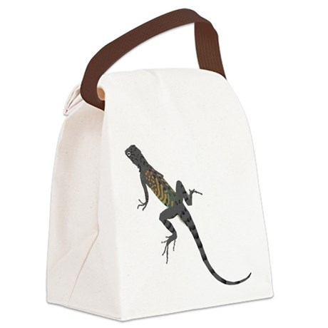 lizard1.png Canvas Lunch Bag