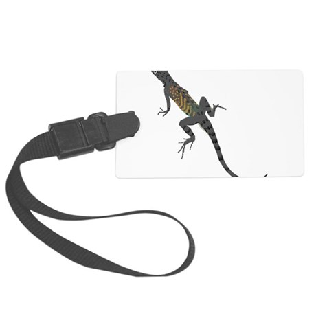 lizard1.png Large Luggage Tag