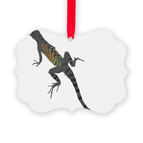 lizard1.png Picture Ornament