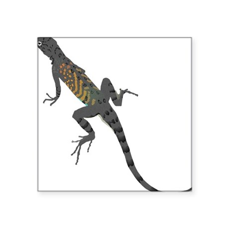 "lizard1.png Square Sticker 3"" x 3"""