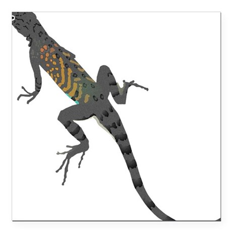 "lizard1.png Square Car Magnet 3"" x 3"""