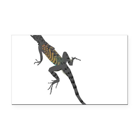 lizard1.png Rectangle Car Magnet