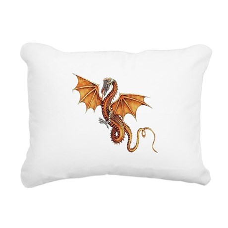dragon10.png Rectangular Canvas Pillow