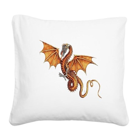 dragon10.png Square Canvas Pillow
