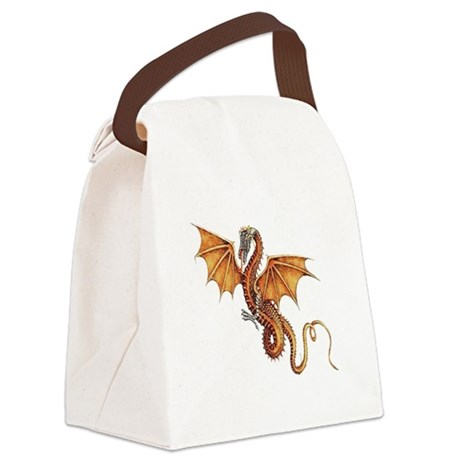 dragon10.png Canvas Lunch Bag