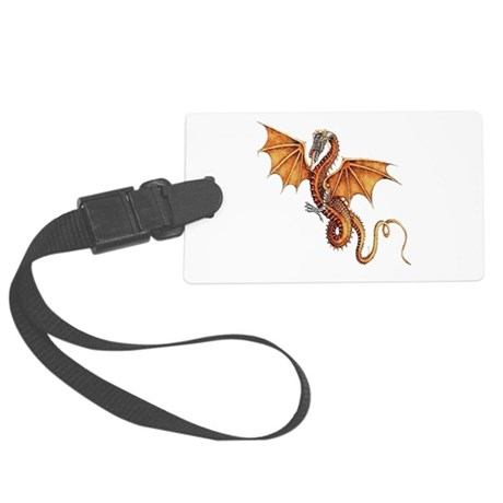 dragon10.png Large Luggage Tag