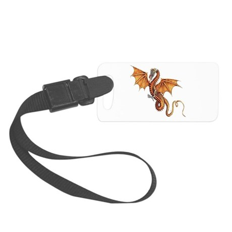 dragon10.png Small Luggage Tag
