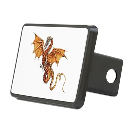 dragon10.png Rectangular Hitch Cover