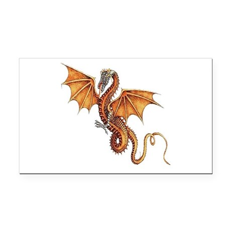 dragon10.png Rectangle Car Magnet