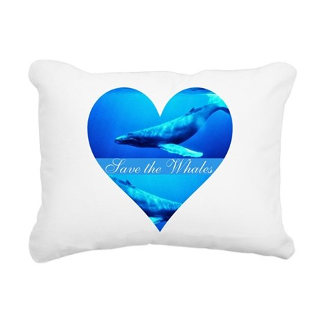 whales4a.png Rectangular Canvas Pillow