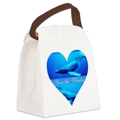 whales4a.png Canvas Lunch Bag