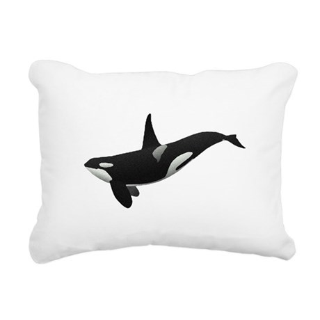 orca.png Rectangular Canvas Pillow