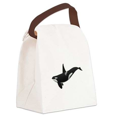 orca.png Canvas Lunch Bag