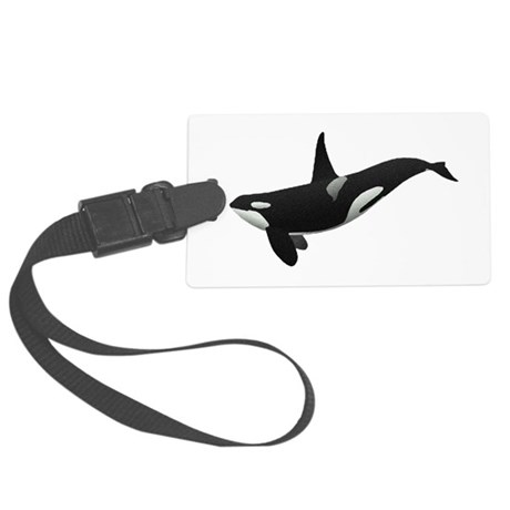 orca.png Large Luggage Tag