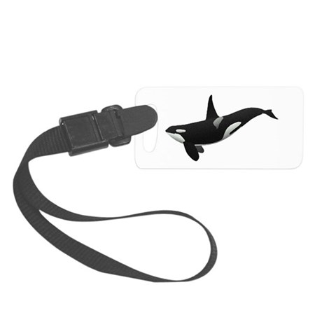 orca.png Small Luggage Tag