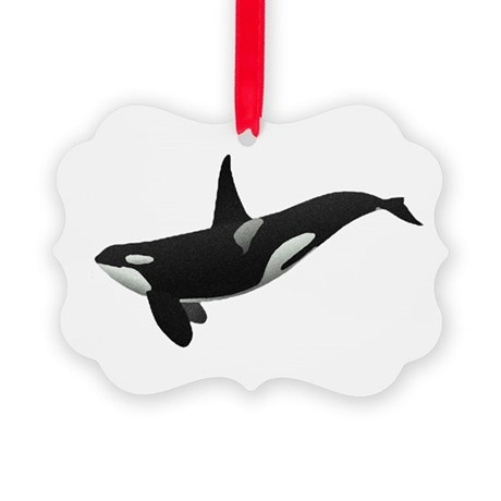 orca.png Picture Ornament